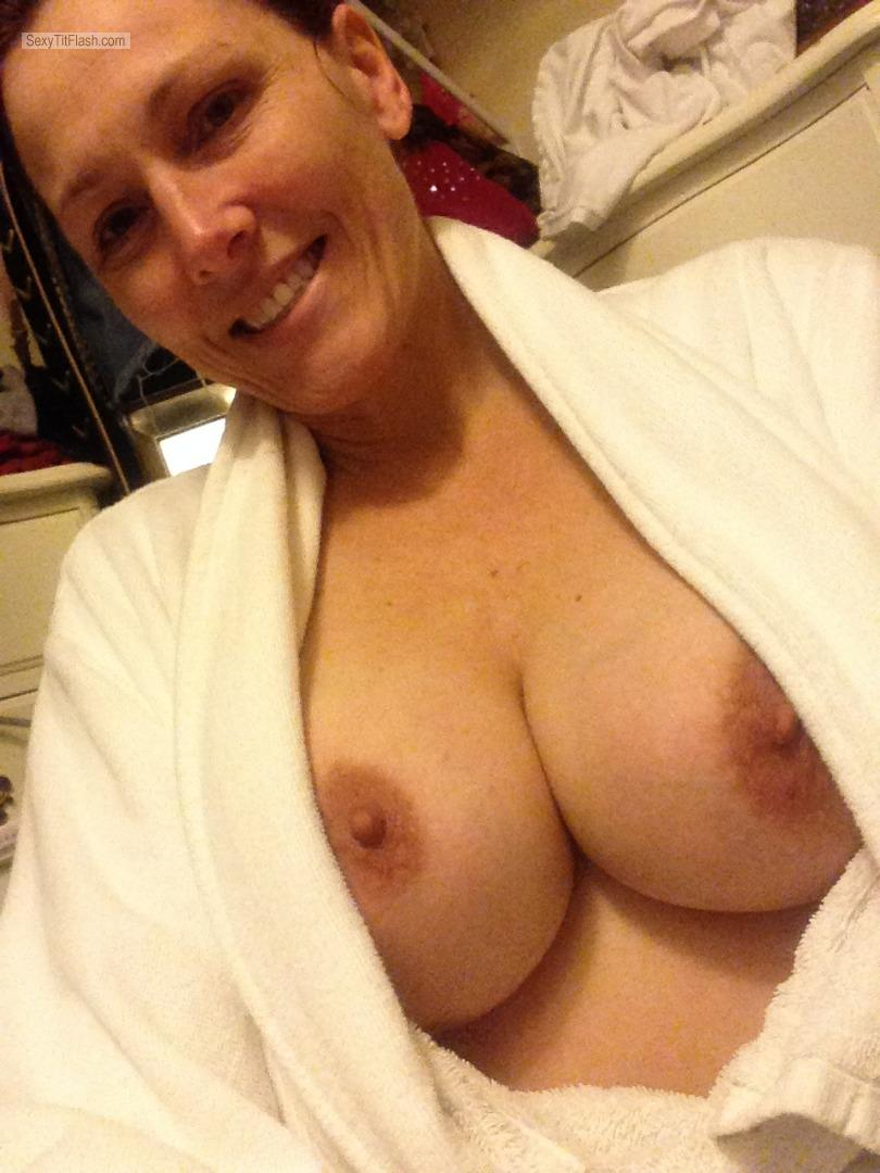 My Big Tits Topless Selfie by Maneboobs